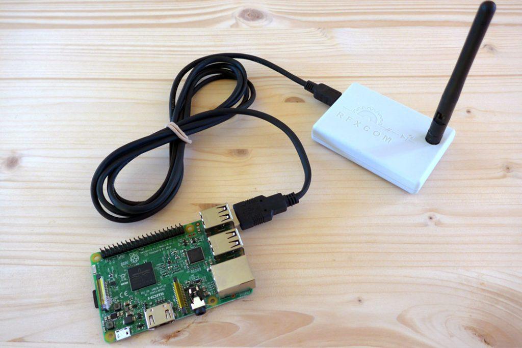 Raspberry Pi 3 et RfxCom